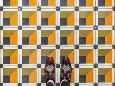 Cement wall/floor tiles CUBIQUE 8