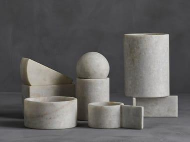Contenitore in marmo CUBISM BOX