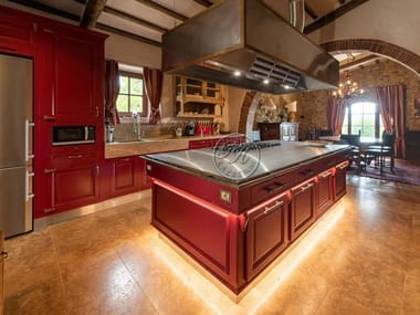 Professional solid wood kitchen with island Kitchens 13