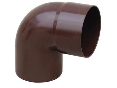 Curva in PVC per tubo pluviale CUM187