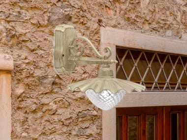 Murano glass outdoor wall lamp CUORE EB 425