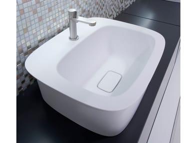 Lavabo in Cristalplant® CUPOLA | Lavabo