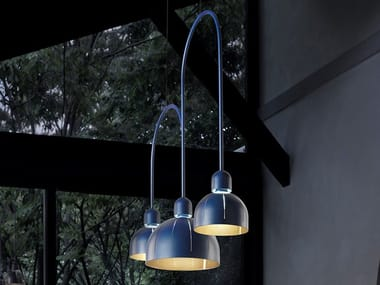LED metal pendant lamp CUPOLE BIL 3