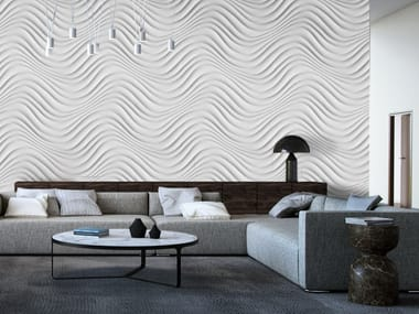 3d wall panel curled