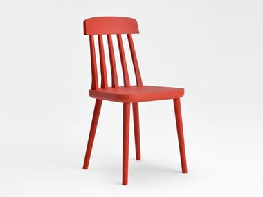Lacquered ash chair CUT | Lacquered chair