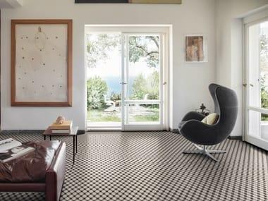 Pavimento/rivestimento in gres porcellanato per interni D_SEGNI
