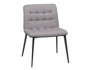 Tufted fabric chair DADDY | Fabric chair