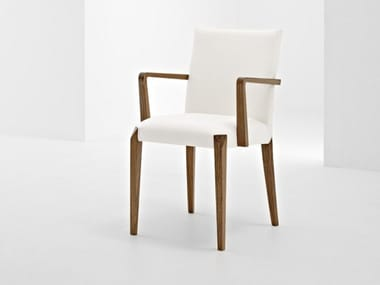Upholstered chair with armrests DAFNE   Chair with armrests