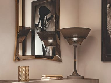 Wooden table lamp DAFNE | Table lamp