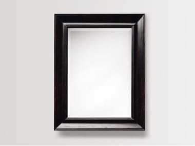 Rectangular wall-mounted framed mirror DAHLIA