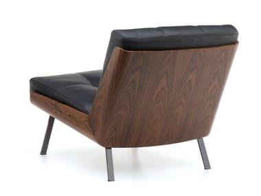 Leather armchair DAIKI | Leather armchair