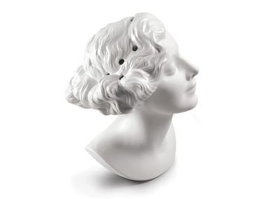 Porcelain vase DAISY WOMAN BUST