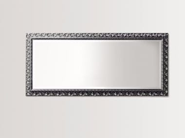 Rectangular wall-mounted framed mirror DAISYSINGLE
