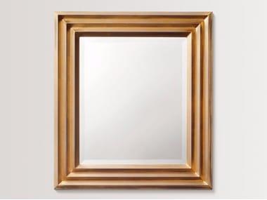 Rectangular wall-mounted framed mirror DAISYWILD