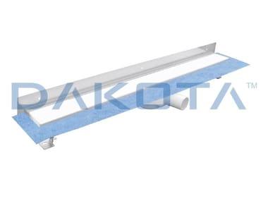 Scarico per doccia in acciaio inox DAKUA+ GLASS-B-WALL
