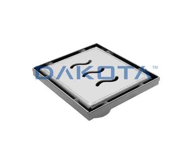 Chiusino e griglia in acciaio Inox con valvola sifonata DAKUA+ WAVE