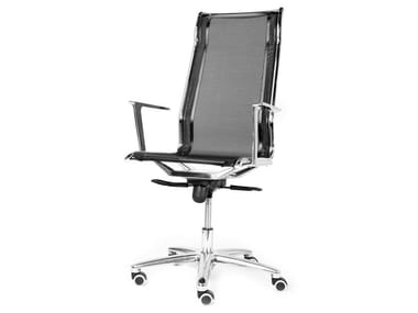 Task chair with 5-Spoke base with castors DALIA