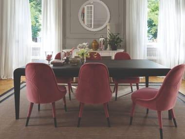 Rectangular beech living room table DAMA | Beech table