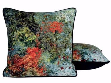 Contemporary style square cushion DAME DE FER
