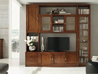 Pareti attrezzate in legno massello stile classico | Archiproducts