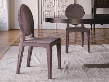 Medallion fabric chair DAMSEL | Fabric chair