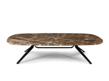 Rectangular marble coffee table DANTE | Rectangular coffee table