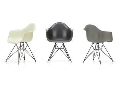 Glass-fibre chair with armrests DAR FIBERGLASS ARMCHAIR