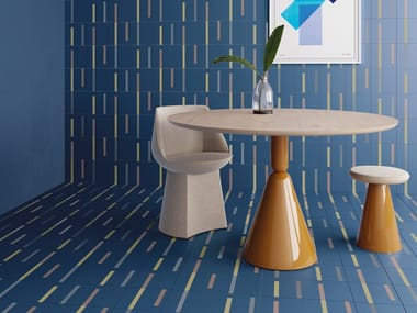 Porcelain stoneware wall/floor tiles DASH