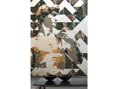Natural stone mosaic DAVID