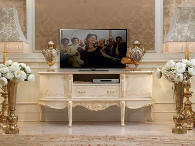 Low lacquered TV cabinet DAVID   TV cabinet