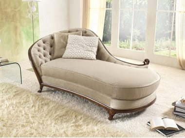 Tufted fabric day bed PETRA | Day bed