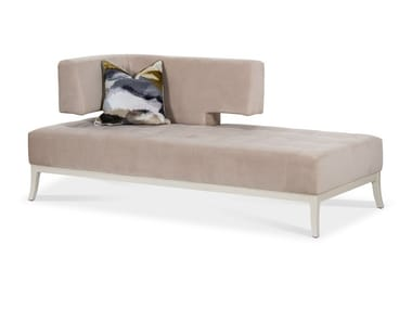 Upholstered velvet day bed PASSIONE | Day bed