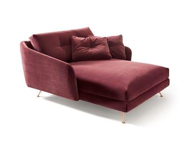 Upholstered velvet day bed DUKE | Day bed
