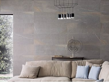 Wall/floor tiles with stone effect DAYTON GRAPHITE