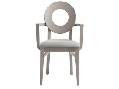 Beech chair with armrests DEA 47UP.i2