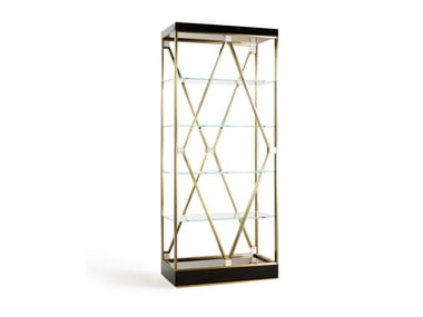 Sectional metal bookcase DEBBIE SMALL