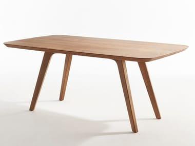Rectangular wooden table DECANTER   Rectangular table