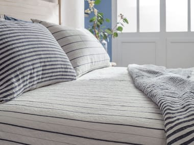 Striped bed sheet LINEE | Bed sheet