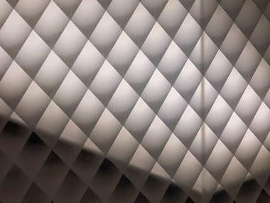 Decorated glass DECORFLOU® DESIGN DIAMOND FACETS