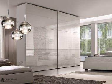 Decorated glass furniture foil DECORFLOU® DESIGN FUZZ