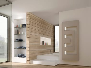 Wall-mounted steel decorative radiator DEDALO | Decorative radiator