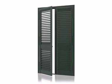 Aluminium security shutter with adjustable louvers DEKORA Armored Adjustable