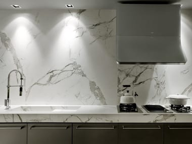 Dekton® wall tiles with marble effect DEKTON® AURA15