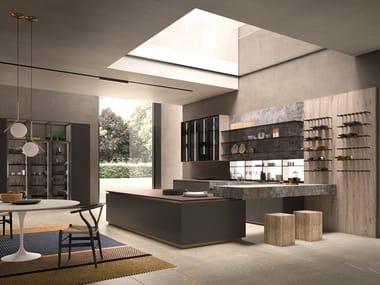 Dekton® kitchen without handles ARES | Dekton® kitchen