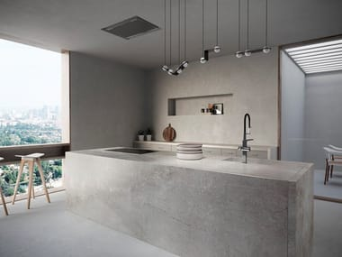 Top cucina effetto cemento | Archiproducts