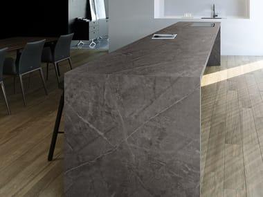 Furniture foil with stone effect DEKTON® KIRA