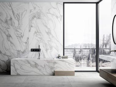 Rivestimento per mobili effetto marmo DEKTON® LIQUID SKY