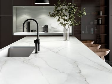Dekton® wall tiles with marble effect DEKTON® REM