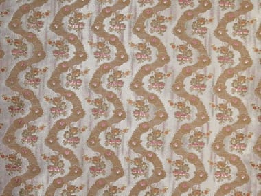 Polyester fabric with floral pattern DELICIOUS MANNERS