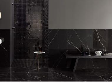 Pavimento/rivestimento in gres porcellanato effetto marmo DELIGHT - MARQUINA NERO
